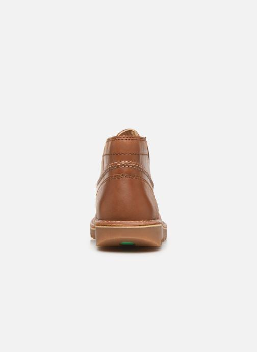 Bottines et boots Kickers NEOTRECK H Marron vue droite