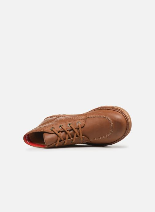 Bottines et boots Kickers NEOTRECK H Marron vue gauche