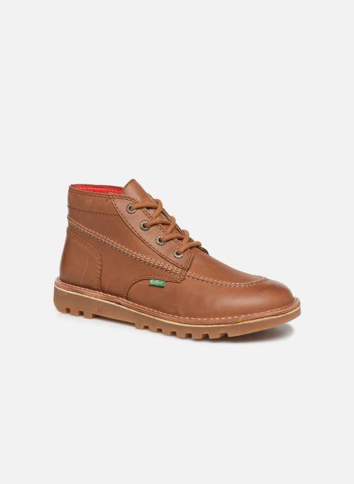 Bottines et boots Kickers NEOTRECK H Marron vue détail/paire