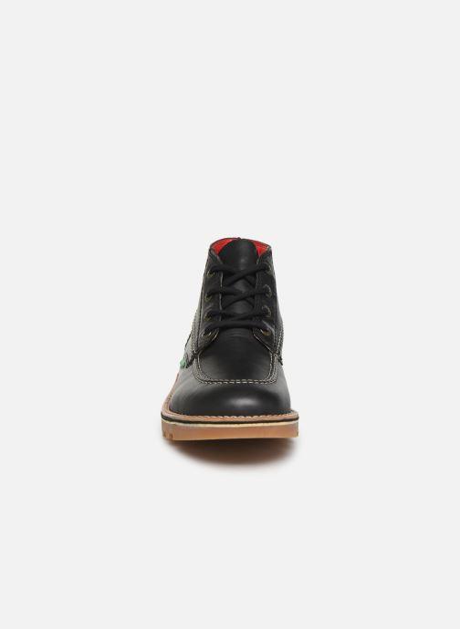 Bottines et boots Kickers NEOTRECK H Noir vue portées chaussures