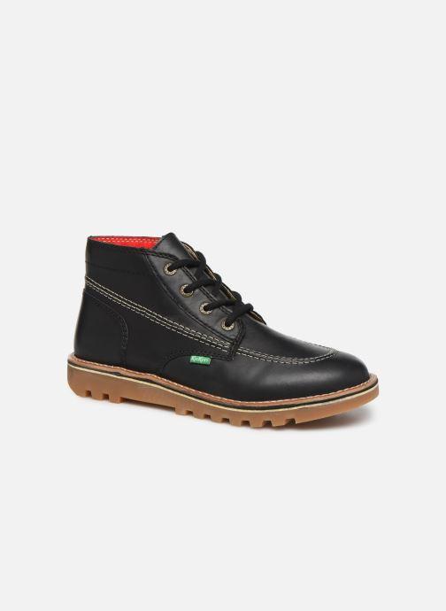 Bottines et boots Kickers NEOTRECK H Noir vue détail/paire