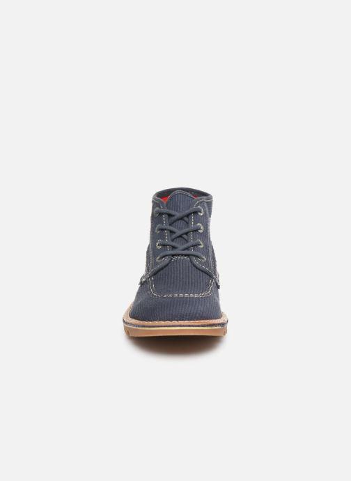 Bottines et boots Kickers NEOTRECK H Marron vue portées chaussures