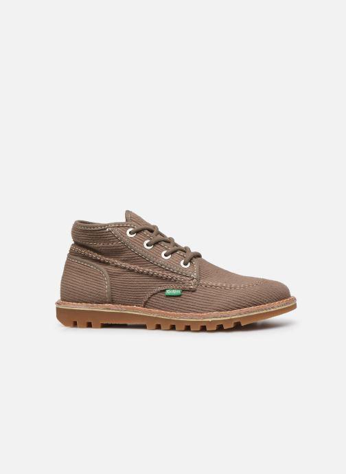 Bottines et boots Kickers NEOTRECK H Vert vue derrière