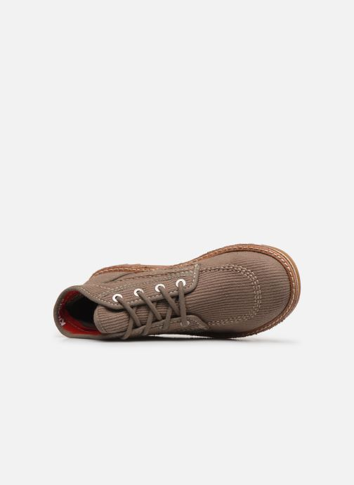 Bottines et boots Kickers NEOTRECK H Vert vue gauche