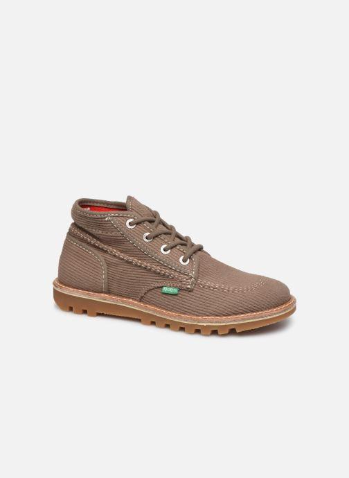 Bottines et boots Kickers NEOTRECK H Vert vue détail/paire