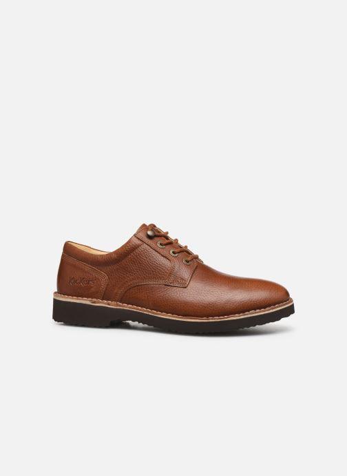 Chaussures à lacets Kickers TRACY H Marron vue derrière