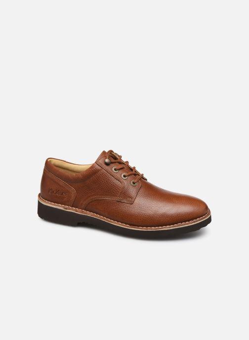 Chaussures à lacets Kickers TRACY H Marron vue détail/paire