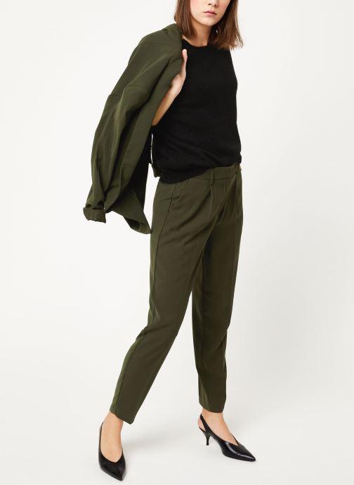 Vêtements MOSS COPENHAGEN Femme Mohair O Pullover Noir vue bas / vue portée sac