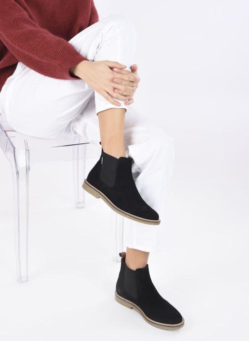 Stiefeletten & Boots Kickers TYGANEW schwarz ansicht von unten / tasche getragen