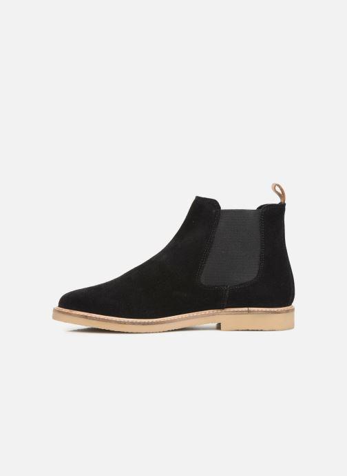 Boots en enkellaarsjes Kickers TYGANEW Zwart voorkant