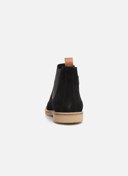 Boots en enkellaarsjes Kickers TYGANEW Zwart rechts