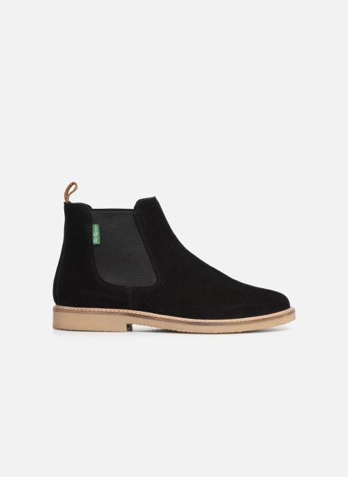 Boots en enkellaarsjes Kickers TYGANEW Zwart achterkant