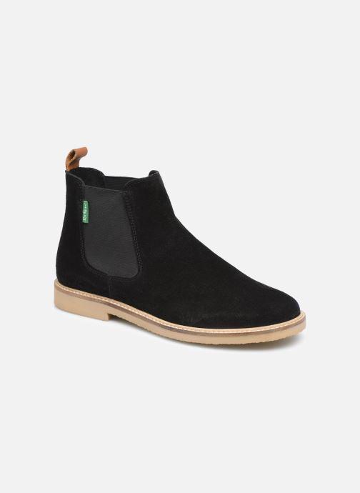 Boots en enkellaarsjes Kickers TYGANEW Zwart detail