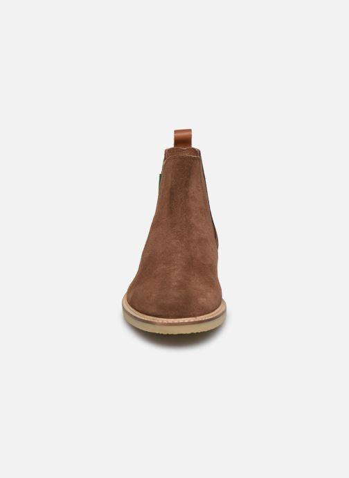 Boots en enkellaarsjes Kickers TYGANEW Bruin model