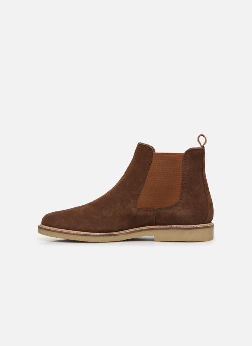 Boots en enkellaarsjes Kickers TYGANEW Bruin voorkant