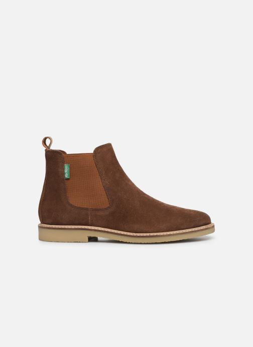 Boots en enkellaarsjes Kickers TYGANEW Bruin achterkant