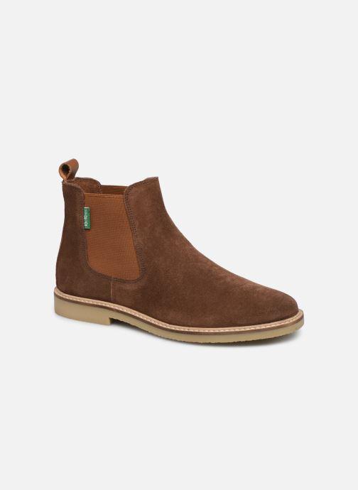 Ankelstøvler Kickers TYGANEW Brun detaljeret billede af skoene