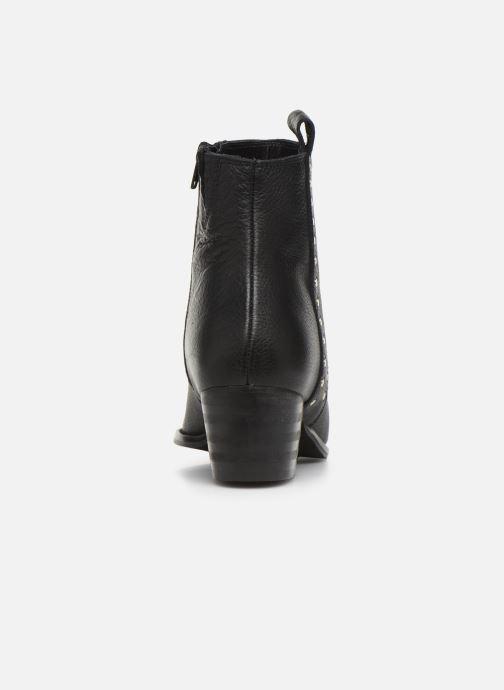 Bottines et boots Shoe the bear LEILA STUDS Noir vue droite