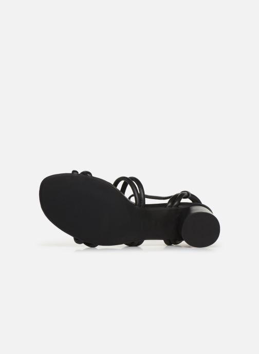 Sandales et nu-pieds Shoe the bear AYA KNOT SANDAL Noir vue haut