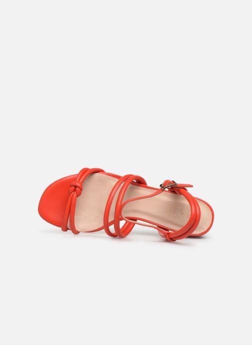 Sandales et nu-pieds Shoe the bear AYA KNOT SANDAL Rouge vue gauche