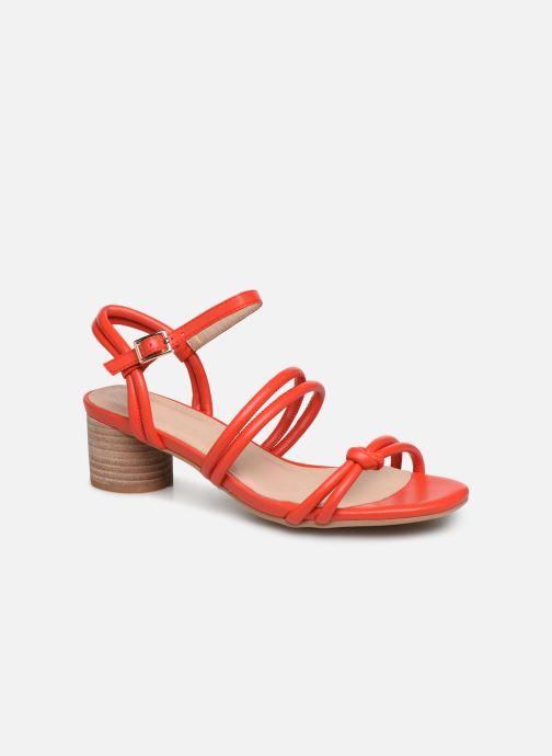 Sandales et nu-pieds Shoe the bear AYA KNOT SANDAL Rouge vue détail/paire