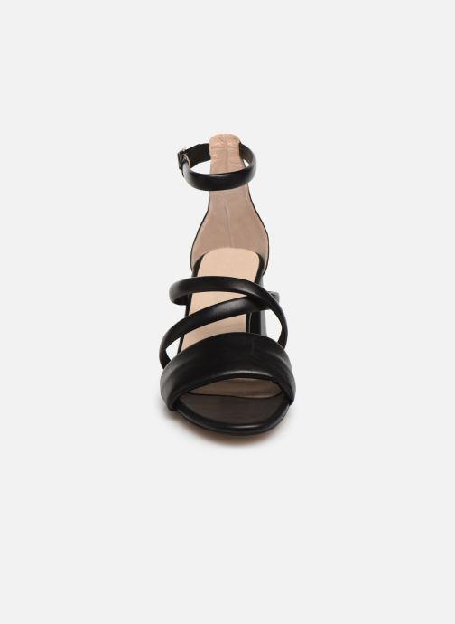 Sandales et nu-pieds Shoe the bear MAY PUFF L Noir vue portées chaussures