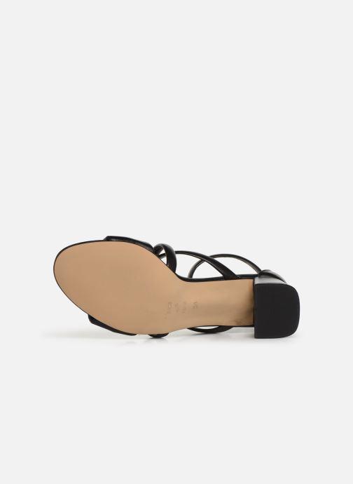 Sandales et nu-pieds Shoe the bear MAY PUFF L Noir vue haut