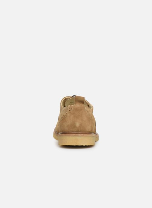 Zapatos con cordones Shoe the bear PAUL S Beige vista lateral derecha