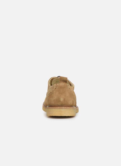 Scarpe con lacci Shoe the bear PAUL S Beige immagine destra