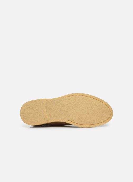 Chaussures à lacets Shoe the bear PAUL S Beige vue haut