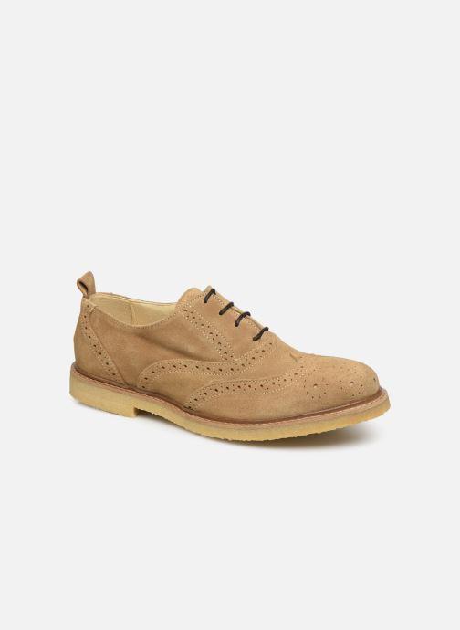 Chaussures à lacets Shoe the bear PAUL S Beige vue détail/paire
