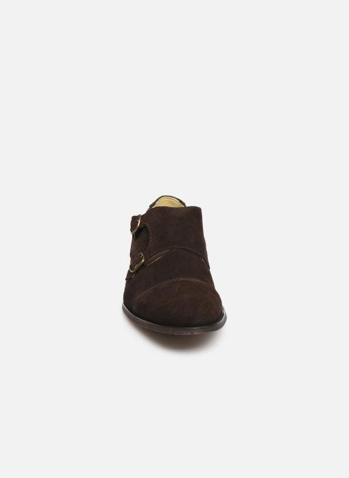 Mocassins Shoe the bear MILES S Marron vue portées chaussures