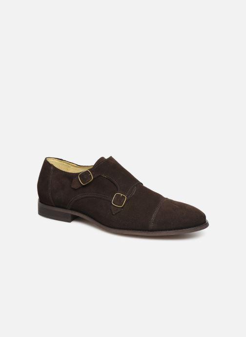 Gesp schoenen Shoe the bear MILES S Bruin detail