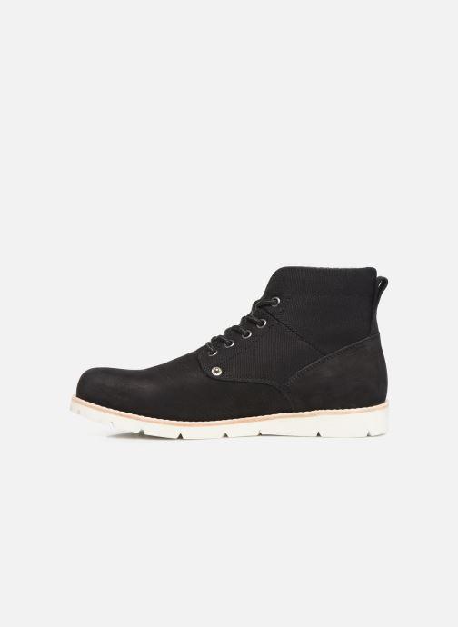 Boots en enkellaarsjes Levi's JAX 2 Zwart voorkant