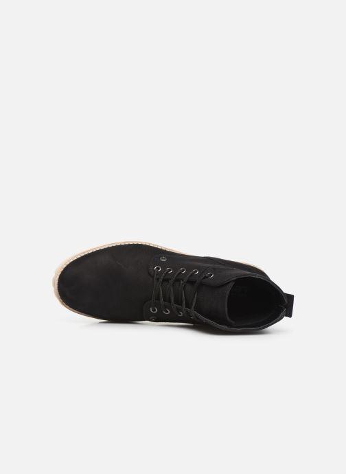 Boots en enkellaarsjes Levi's JAX 2 Zwart links
