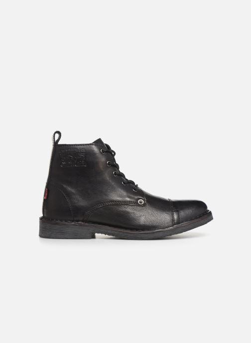 Boots en enkellaarsjes Levi's TRACK 3 Zwart achterkant