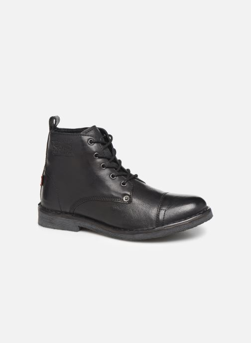 Boots en enkellaarsjes Levi's TRACK 3 Zwart detail