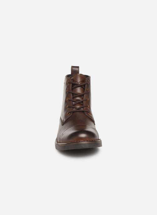 Stiefeletten & Boots Levi's TRACK 3 braun schuhe getragen