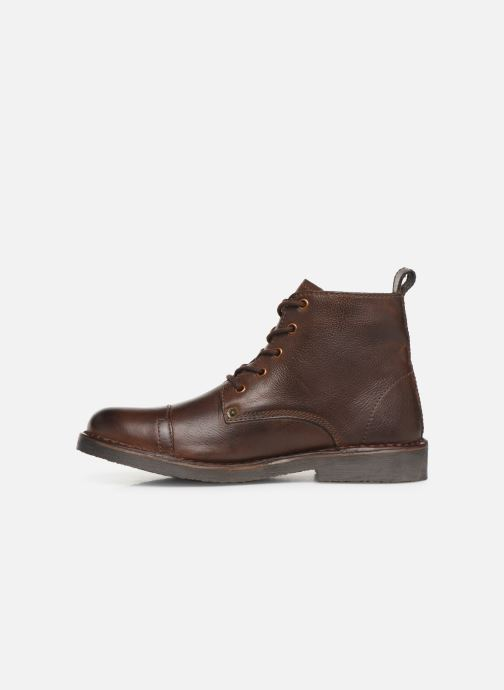 Stiefeletten & Boots Levi's TRACK 3 braun ansicht von vorne