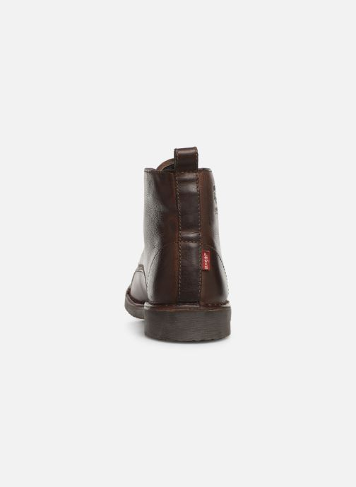 Stiefeletten & Boots Levi's TRACK 3 braun ansicht von rechts