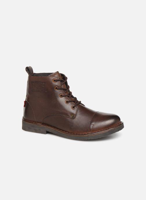 Stiefeletten & Boots Levi's TRACK 3 braun detaillierte ansicht/modell