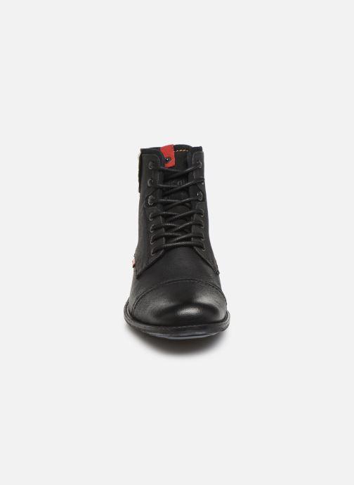 Bottines et boots Levi's FOWLER 2 Noir vue portées chaussures