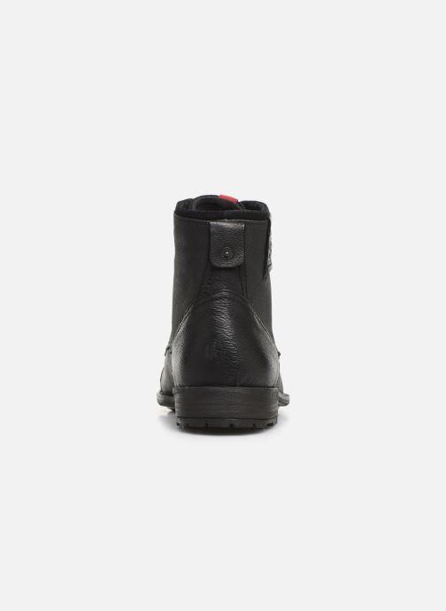 Bottines et boots Levi's FOWLER 2 Noir vue droite