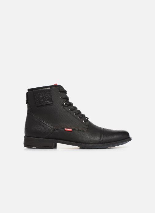 Boots en enkellaarsjes Levi's FOWLER 2 Zwart achterkant