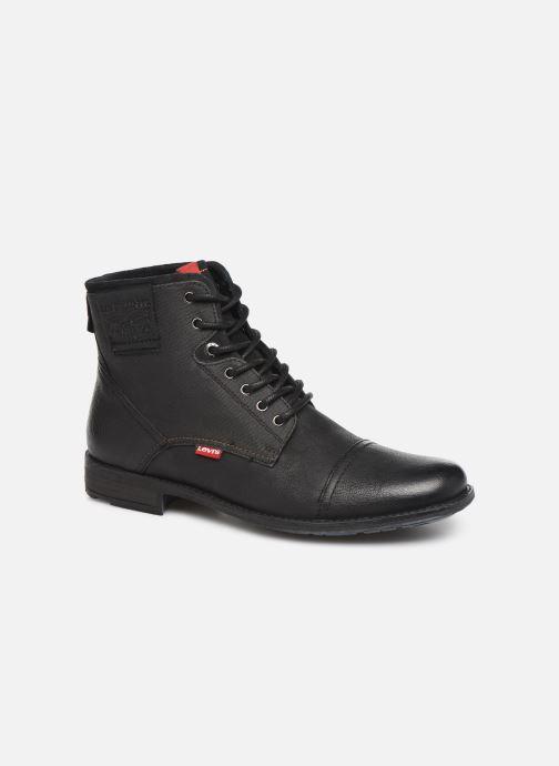 Ankelstøvler Levi's FOWLER 2 Sort detaljeret billede af skoene