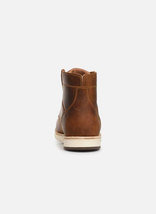 Bottines et boots Levi's JAX PLUS Marron vue droite