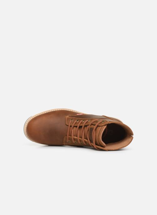 Bottines et boots Levi's JAX PLUS Marron vue gauche