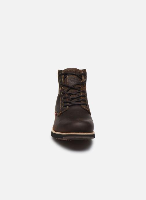 Stiefeletten & Boots Levi's JAX PLUS braun schuhe getragen