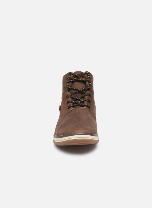 Stiefeletten & Boots Levi's PNSL01 braun schuhe getragen