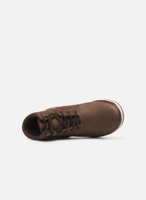 Stiefeletten & Boots Levi's PNSL01 braun ansicht von links